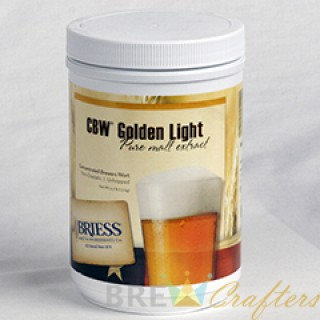 Briess Extract Gold- 3.3 lb Jar