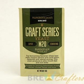 Mangrove Jack's Dried Yeast Bavarian Wheat M20 - 10g