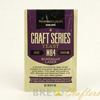 Mangrove Jack's Dried Yeast Bohemian Lager M84 - 10g