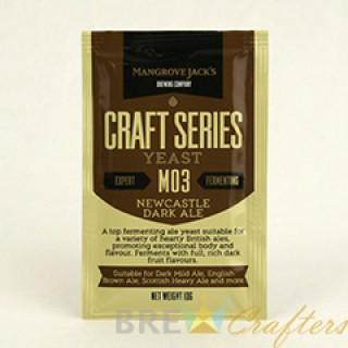 Mangrove Jack's Dried Yeast Newcastle Dark Ale M03 - 10g